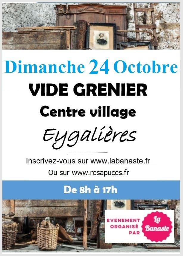 VIDE GRENIER Dimanche 24 Octobre 2021